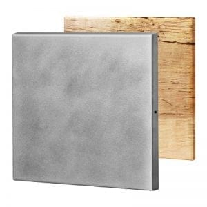 Stainless steel-beveled edges