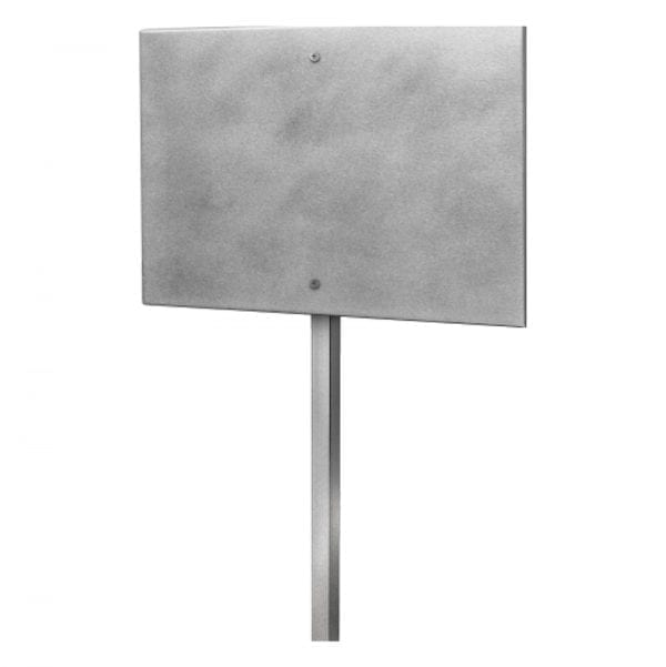 Stainless steel-metal post