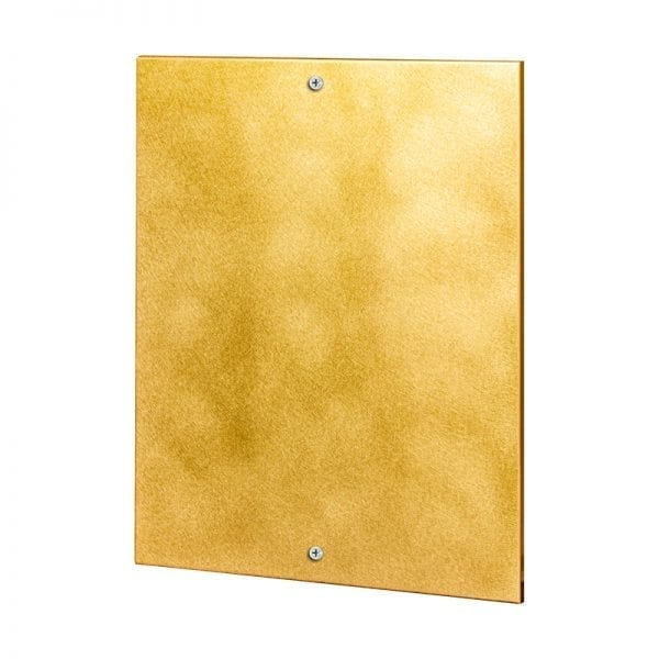 brass- 2 mounting holes