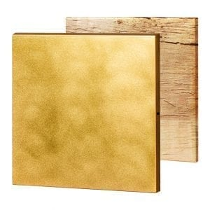 brass- beveled edges